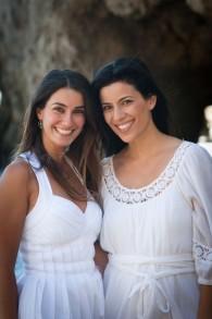 Saba Soomekh et sa soeur Bahar (à droite) (Crédit : autorisation)