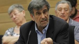 Shimon Ohayon, député Likud-Beytenu (Crédit : Flash90)