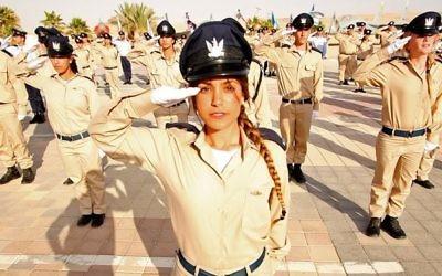Soldate de l'armée israélienne (Crédit : Tsahal.fr)