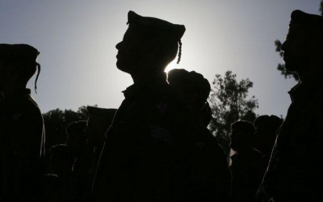 Soldats de Tsahal (Crédit : Miriam Alster/Flash 90)