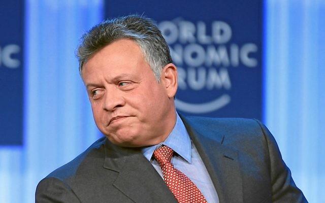 Le roi Abdallah II de Jordanie, au Forum Economique mondial en 2013 (Crédit: CC BY World Economic Forum/Wikipedia)