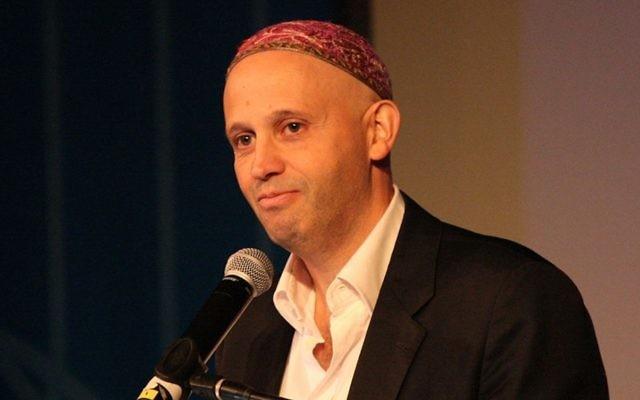Sergio Bergman à Jérusalem, mai 2013 (Crédit : JTA)