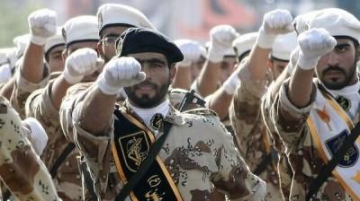Gardiens de la révolution islamique (Crédit : @MidEastNews_Eng via Twitter/File)