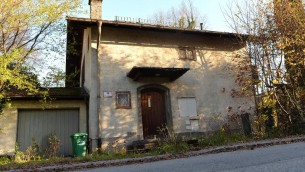 La maison de Cornelius Gurlitt à Salzbourg, en Autriche, le 18 novembre 2013  (Crédit : AFP/Archives Wildbild)