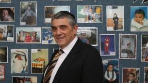 Eli Schussheim, le président du groupe anti-avortement Efrat, se dit être pro-choix (Crédit : JTA)