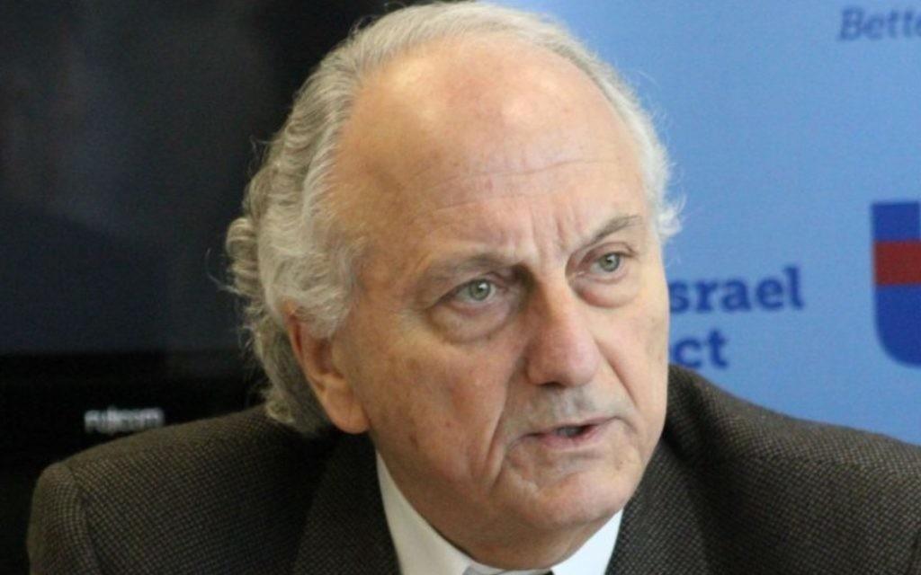 Le président de la Chambre de Commerce Israël-Palestine David Simha (Crédit : The Israel Project)