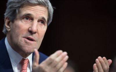 Le Secrétaire d'Etat américain John Kerry (Crédit photo: Paul J. Richards/AFP)
