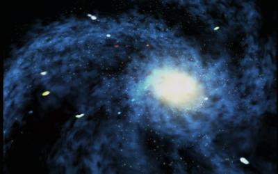 Une interprétation artistique du Big Bang (Crédit : NASA)