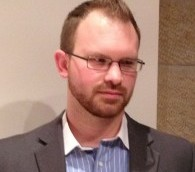 L'évangéliste sioniste, Robert Nicholson (Crédit : Elhanan Miller/Times of Israel)