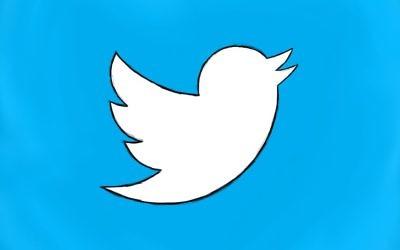 Logo de Twitter, dessiné par Shawn Campbell (Crédit : CC BY Shawn Campbell/Flickr)