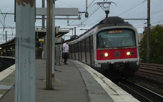 La mission NELY74 du RER A, en direction de Boissy-Saint-Léger (Sprag75/Wikimidia Commons/CC BY-SA 3.0)