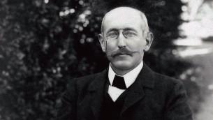 Alfred Dreyfus à Carpentras, 1899-1900 (Crédit : Collection de la famille Dreyfus)