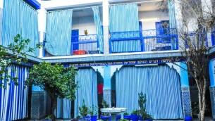 La synagogue de Lazama est une importante partie de l'histoire des juifs du Maroc (Crédit : Michal Schmulovich/Times of Israel)
