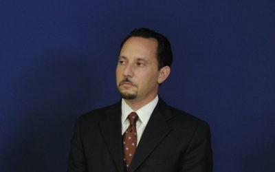 Daniel Rubinstein à Jérusalem en 2010 (Crédit : Département d'Etat américain)