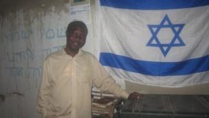 Enosh Keki Maniah espère faire son alyah (Crédit : Ben Sales/JTA)