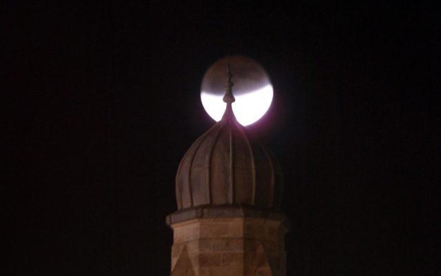 Une photo illustrative d'une mosquée à Jérusalem (Crédit : Uri Lenz/Flash90)