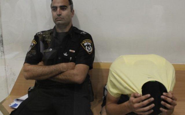 Eden Ohayon, condamné à perpétuité pour meurtre (Crédit : Tsafrir Abayov/Flash90)