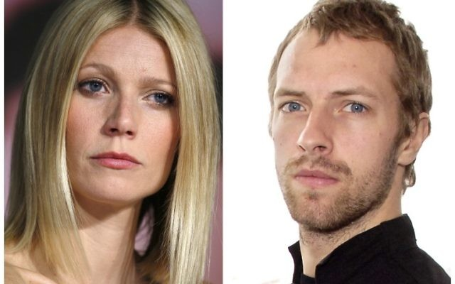 Gwyneth Paltrow et Chris Martin (Crédit : AFP)