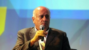 Jibril Rajoub (Crédit : Yossi Zamir/Flash 90)
