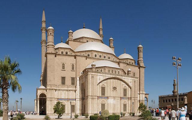 La mosquée Mohammed Ali au Caire, en Egypte (Crédit : Kallerna/Wikimedia commons/CC BY-SA 3.0)