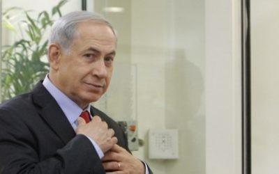 Le Premier ministre israélien Benjamin Netanyahu (Crédit : Miriam Alster/Flash 90)