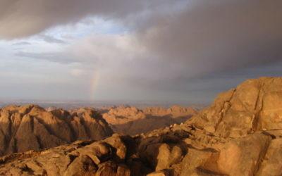 Mont Sinai (Crédit : Wikimedia commons)