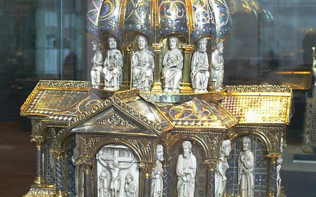 Relique du Trésor des Guelfes au musée de Berlin (Crédit : Wikimedia commons)