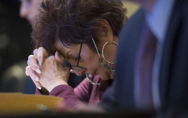 Rosette Goldstein (Crédit : AFP)