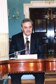 Le prince Saoud al-Fayçal, ministre des Affaires étrangères saoudien (Crédit : Département d'Etat américain/Wikimedia commons)
