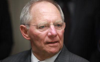 Schäuble compare la Russie à l'Allemagne nazie (Crédit : Armin Kübelbeck/CC BY SA 3.0)