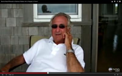 Bernard Madoff (Crédit : capture d'écran Youtube/ABC News)