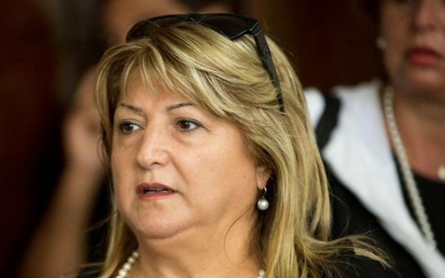 Shula Zaken, ancienne directrice de cabinet de l'ex-Premier ministre Ehud Olmert (Crédit : Tal Shahar/Flash 90)