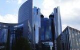La tour de la Société générale à la Défense. (Crédit : Loic LLH/CC BY-SA 3.0/Wikimedia commons)