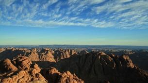 Vue depuis le mont Sinai (Crédit : Daniel Fafard/Wikimedia commons)