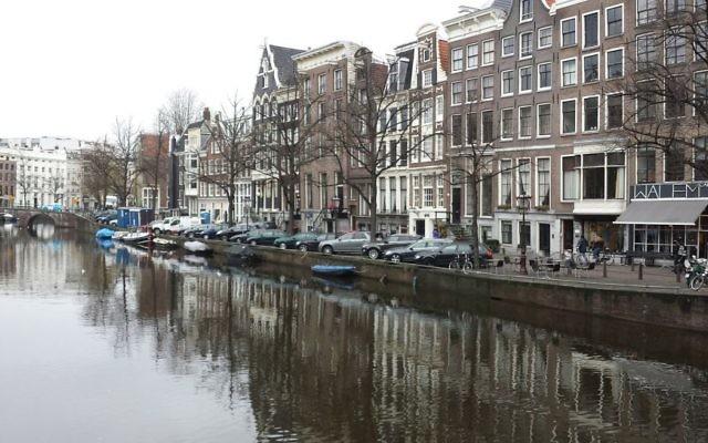 Un canal à Amsterdam, Pays-Bas (Crédit : CC0 1.0)