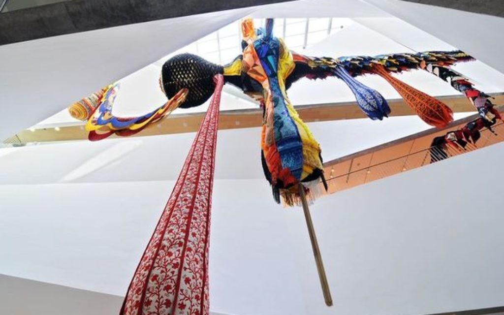 """""""Lusitana 2013"""" au musée d'art de Tel Aviv (Crédit : autorisation du musée d'art de Tel Aviv)"""