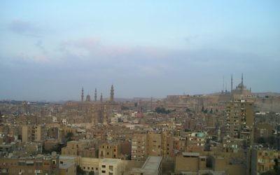 Une vue du Caire, Egypte (Crédit : CC0 1.0)