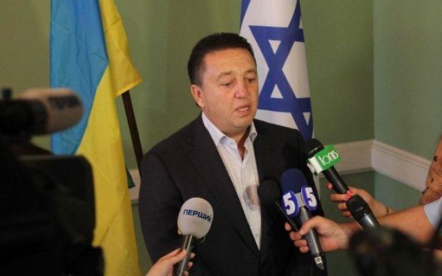 Le député ukrainien Oleksandr Feldman. (Crédit : autorisation du Comité juif d'Ukraine)