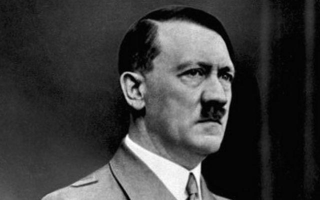 Adolf Hitler (Crédit : Archives fédérales allemandes/Wikimedia Commons)
