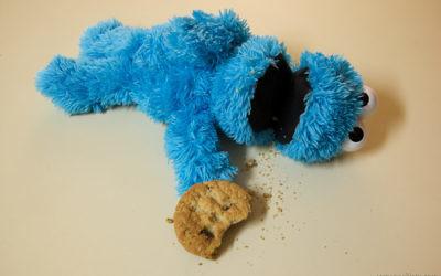 Macaron le glouton souffre d'une indigestion (Crédit : CC BY Casey Fleser/Flickr)