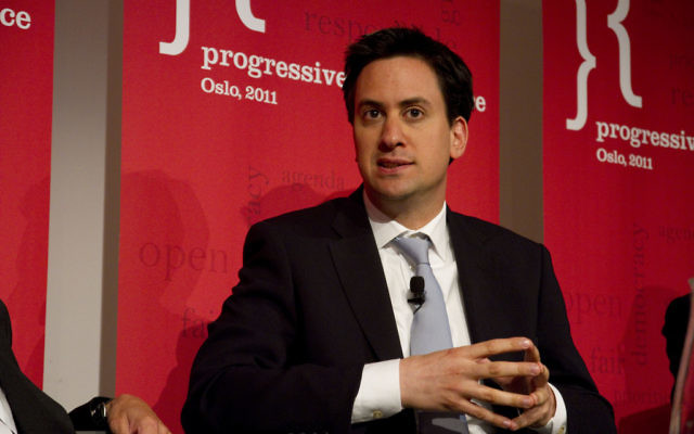 Le député travailliste Ed Miliband (Crédit : Arbeider Partiet/Flickr)