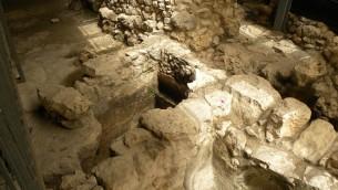 Des excavations à la Cité de David, Jérusalem. (Crédit : Ian Scott/CC BY/Flickr)