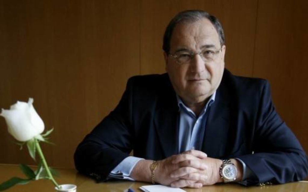 Abraham Foxman, ancien dirigeant de l'Anti-Defamation League (ADL). (Crédit : Miriam Alster/Flash90)