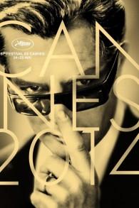 Affiche du 67ème festival de Cannes - Marcello Mastroianni (Crédit : HERVE CHIGIONI,/GILLES FRAPPIER/FESTIVAL DE CANNES/AFP)