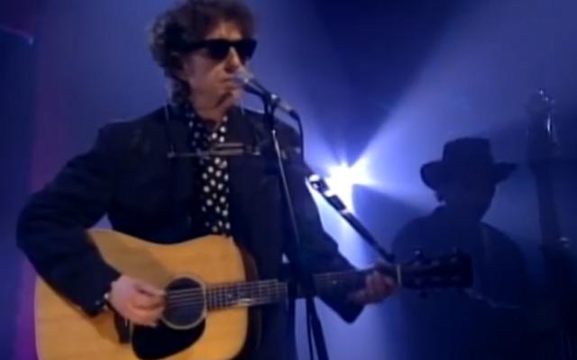 Bob Dylan (Crédit : capture d'écran YouTube)