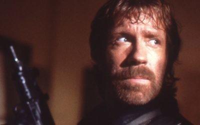 Chuck Norris dans Delta Force (Crédit : CC BY Yoni S.Hamenahem/Wikimedia Commons)