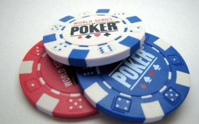 Des jetons de poker (Crédit : Wikimedia commons/CC BY SA)