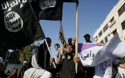 Salafistes palestiniens à Rafah, en septembre 2012 (Crédit : Abed Rahim Khatib/Flash 90)