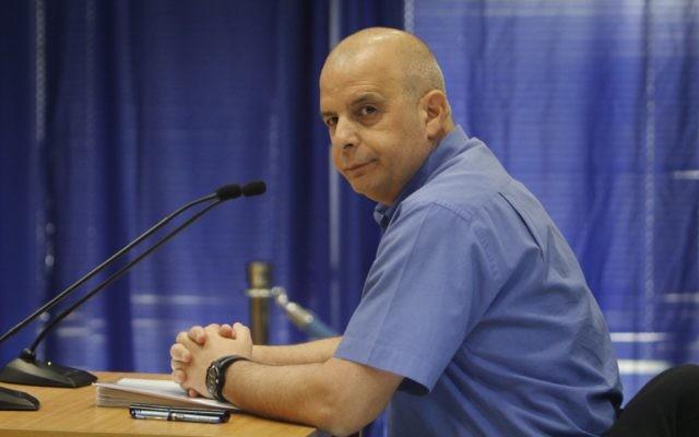 Yuval Diskin, ancien chef du Shin Beth (Crédit : Miriam Alster/ Flash90)