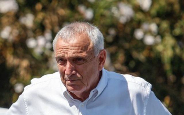 Le ministre de la Sécurité publique Yitzhak Aharonovitch (Crédit : Noam Moskowitz/Flash90)